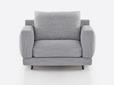 Bensen Elle Armchair and Ottoman