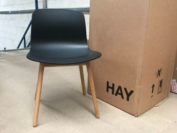 Hay About A Chair AAC12 Soft Black