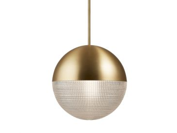 Lee Broom Lens Flair Pendant Brass