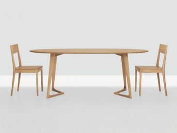 Zeitraum Twist Oval Table