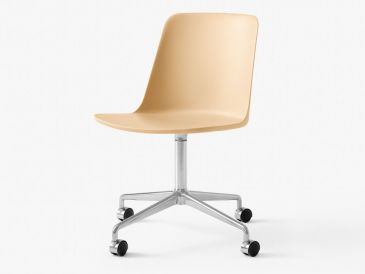 &Tradition Rely Chair With Castors