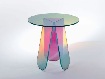 Glas Italia Shimmer Occasional Table