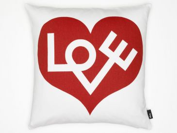 Vitra Graphic Print Love Cushion