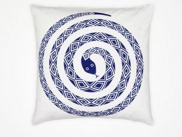 Vitra Graphic Print Snake Cushion