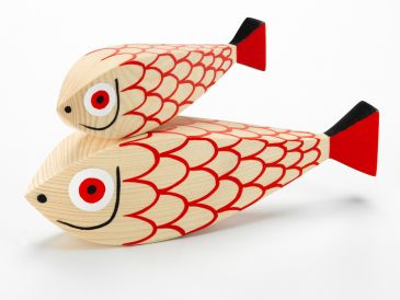 Vitra Girard Wooden Mother Fish and Child