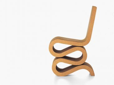 Vitra Miniature Wiggle Side Chair
