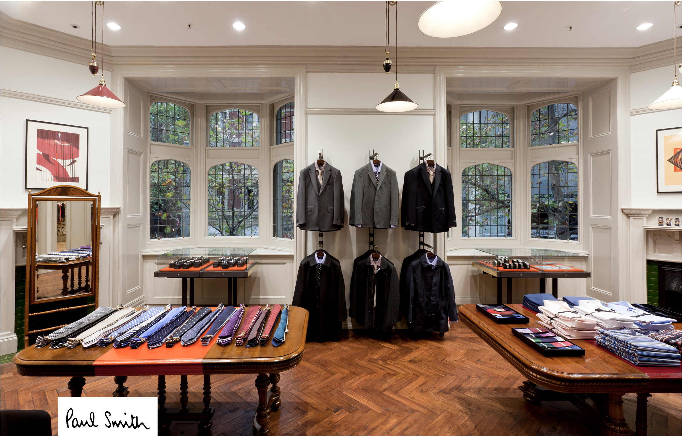 Paul Smith Store Example